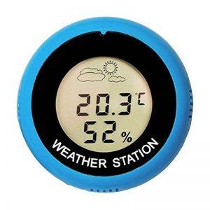 Thermomètre Hygromètre,vanpower Thermomètre numérique rond hygromètre thermomètre station météo de la marque vanpower image 0 produit