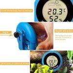 Thermomètre Hygromètre,vanpower Thermomètre numérique rond hygromètre thermomètre station météo de la marque vanpower image 2 produit