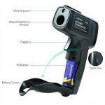 Thermomètre Infrarouge, SURPEER IR5D Laser Thermomètre à Pistolet (-58 ℉ ~ 1022 ℉) Emissivité Réglable - Sonde de Température Pour Cuisiner/Air/Réfrigérateur/Congélateur - Thermomè de la marque SURPEER image 2 produit