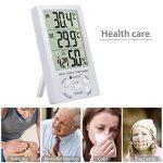 thermomètre intérieur extérieur avec sonde fil TOP 2 image 1 produit