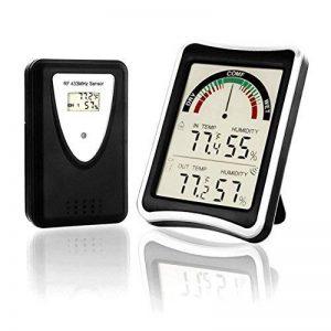thermomètre intérieur extérieur maison sans fil TOP 12 image 0 produit