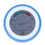 TOOGOO Numerique LCD Affichage Thermometre Interieur Hygrometre Rond Sans Fil electronique Temperature Humidimetre Metre Station Meteo Testeur bleu de la marque TOOGOO image 4 produit