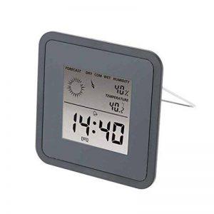 Topker Multi-usage Station météo LCD thermomètre hygromètre Prévision capteur Réveil température hygromètre de la marque Topker image 0 produit