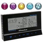 Ultranatura Station météo design UN 800 avec horloge radio-pilotée et capteur thermique/hygrométrique externe de la marque Ultranatura image 1 produit