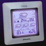Ultranatura Station météo radio-pilotée UN 1000, prévisions météorologiques sur 4 jours, Meteotime de la marque Ultranatura image 4 produit