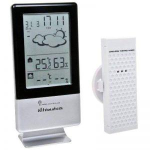 Ultranatura Station Météo un 900 avec Horloge Radio-Pilotée et Capteur Thermique/Hygrométrique Externe de la marque Ultranatura image 0 produit