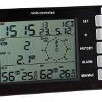 VSE 167053Station météo sans fil avec horloge DCF et capteur extérieur de la marque VSE image 1 produit