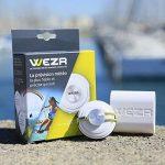 WEZR Station Météo Portable - Capteur Nomade Connecté - Prévision Hyper Localisée - Bluetooth - App iOS Android de la marque WEZR image 3 produit